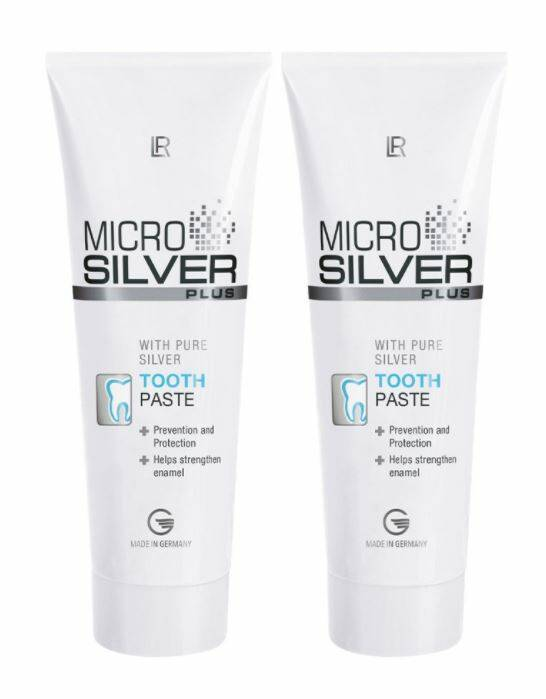 Microsilver Plus Tooth Paste - set van 2