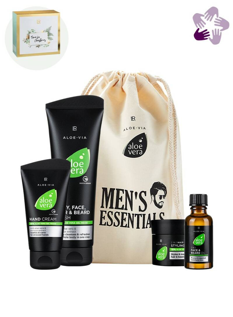 LR ALOE VIA Men's Essentials Set