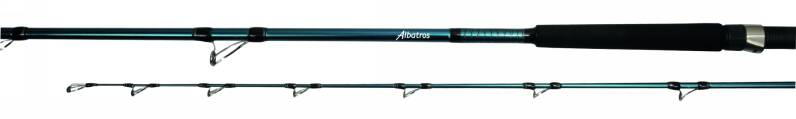 Albatros Deep Blue Braid Rod Boothengel (25925)