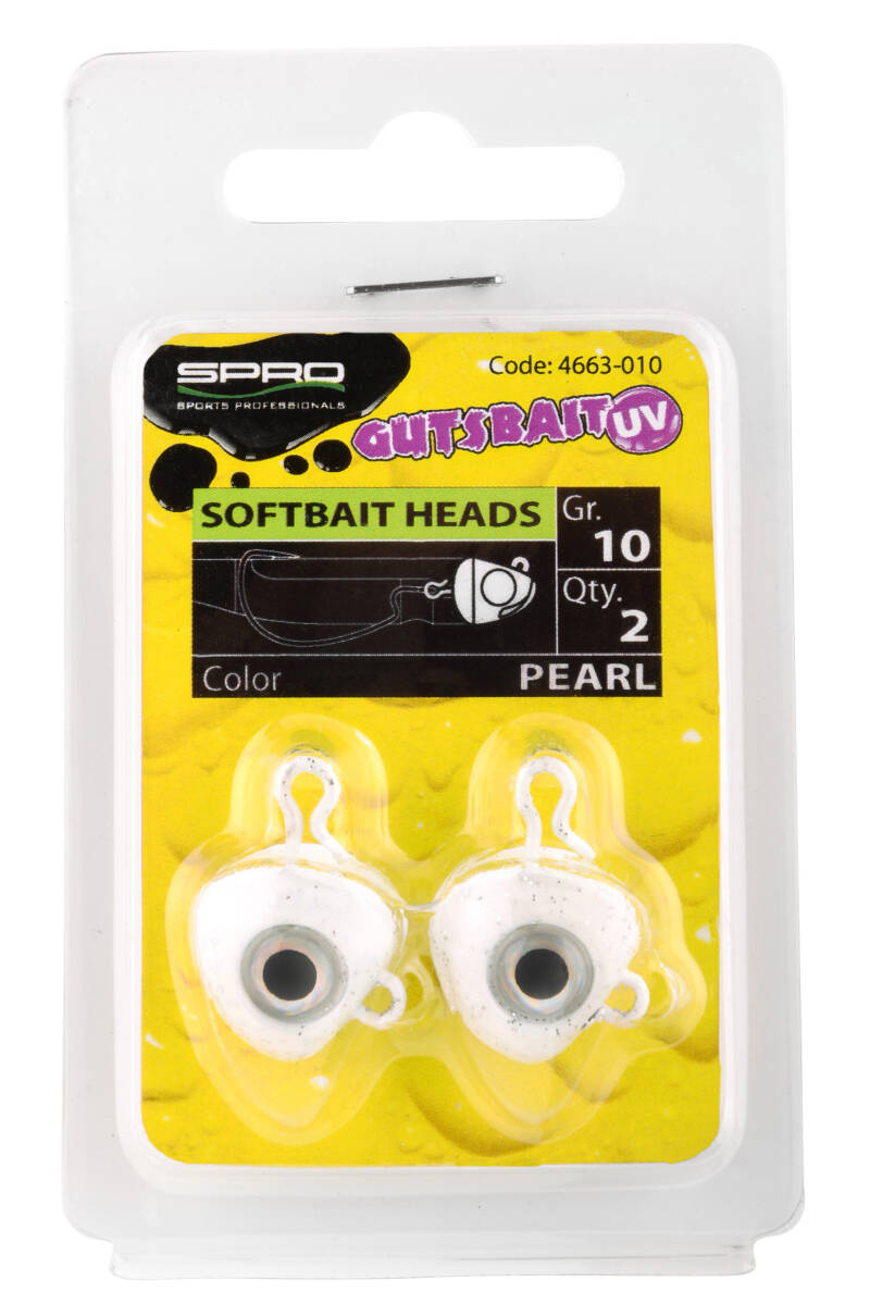 SPRO Gutsbait UV-series Heads