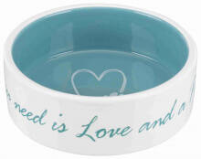 eet/drink pot ceramique All you need is love and a pet