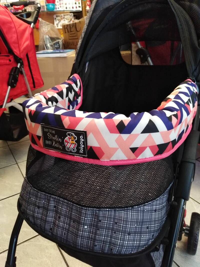 Protection shield roze voor leuning buggy