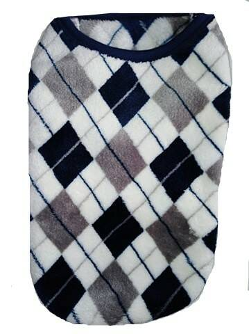 Fleece Checkers 42cm