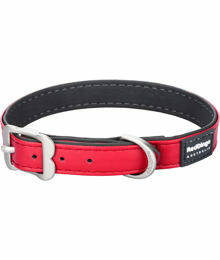 RED DINGO Collar kunstleder rood