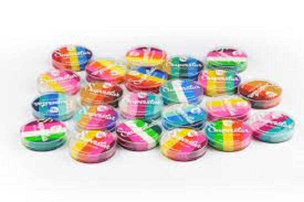 Superstar Facepaint Dream Color's - Alle 13 kleuren met case