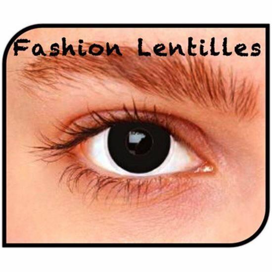 FASHION LENTILLES CRAZY - daglenzen (per paar) - Black out