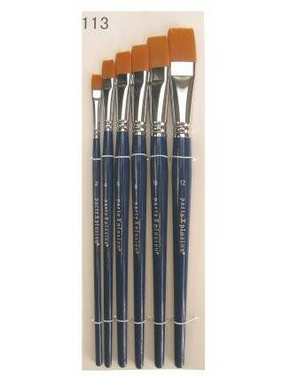 PXP Professional Colours penselenset in etui 6 stuks 40051