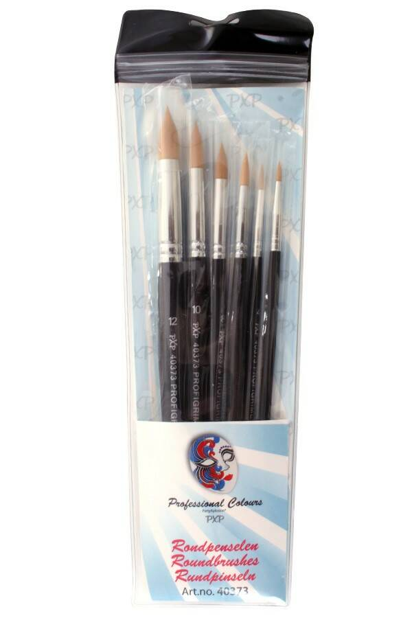 PXP Professional Colours 6 brushes Round profigrime synthetic 40373