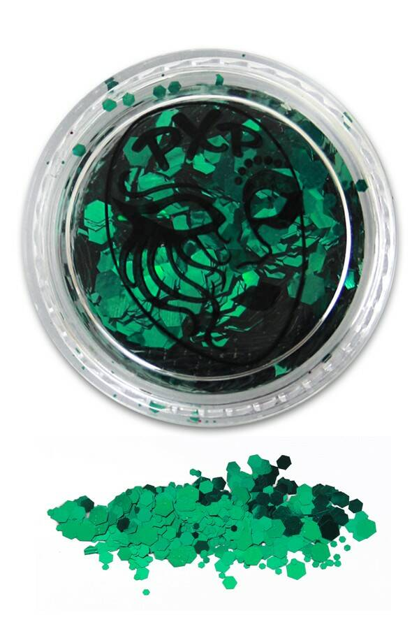 PXP Professional Colours Glitter Sparkling Grass green 5gr 43160
