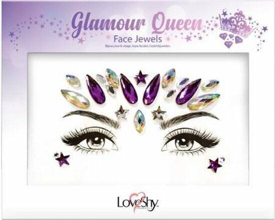 Face jewels Glamour Queen