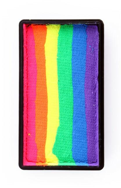 PXP Professional Colours 28 gram splitcake Neon rainbow - 43367