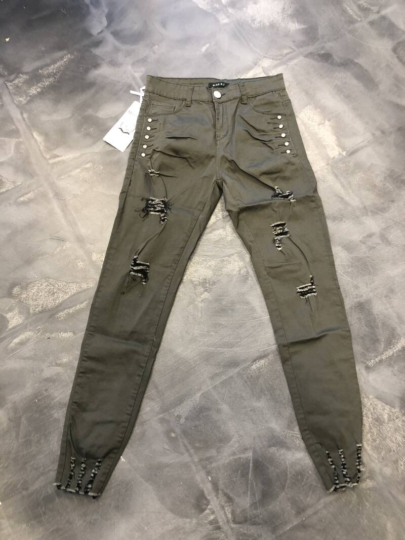 Broek rolly green 40/48