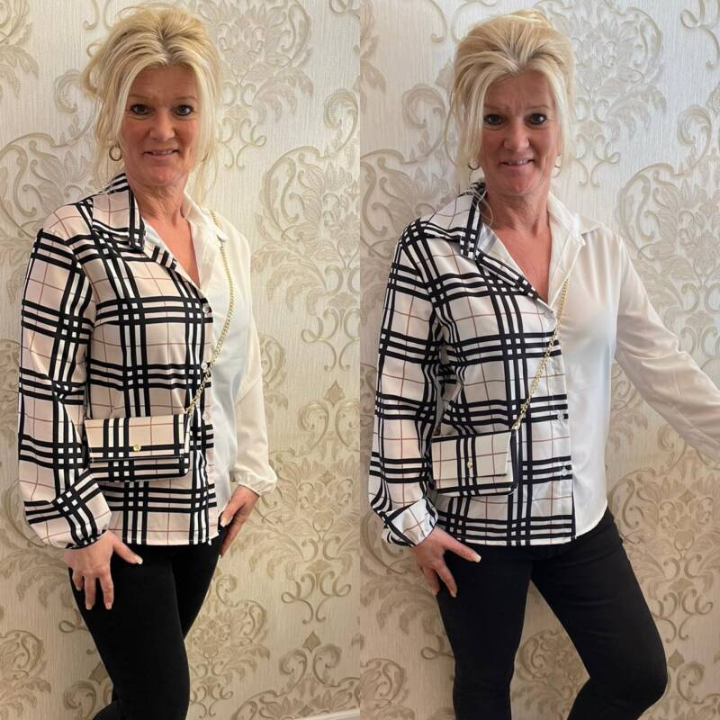 Blouse look A like t/m 38/40