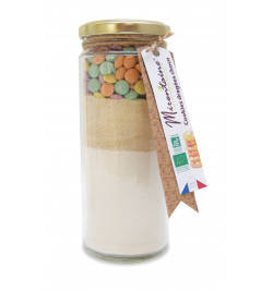 Mirontaine bakmix Cookie smarties 375gr. BIO