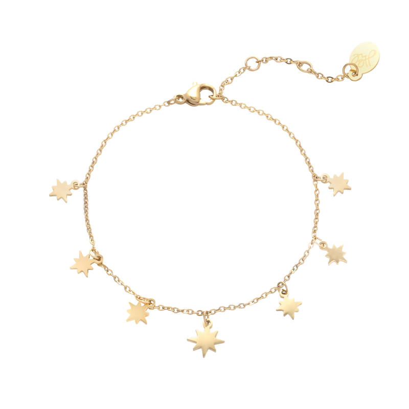 Armband counting stars - gold