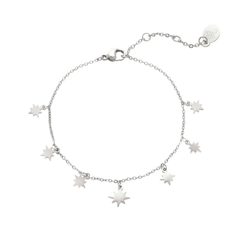 Armband counting stars - silver