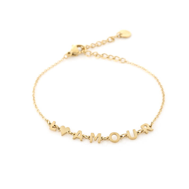 Armband l'amour - gold