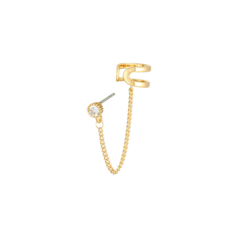 Ear cuff chain - gold