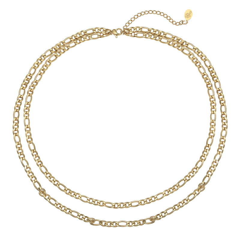 Ketting who that girl - gold