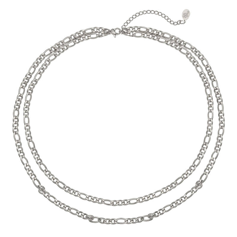 KETTING WHO THAT GIRL - SILVER
