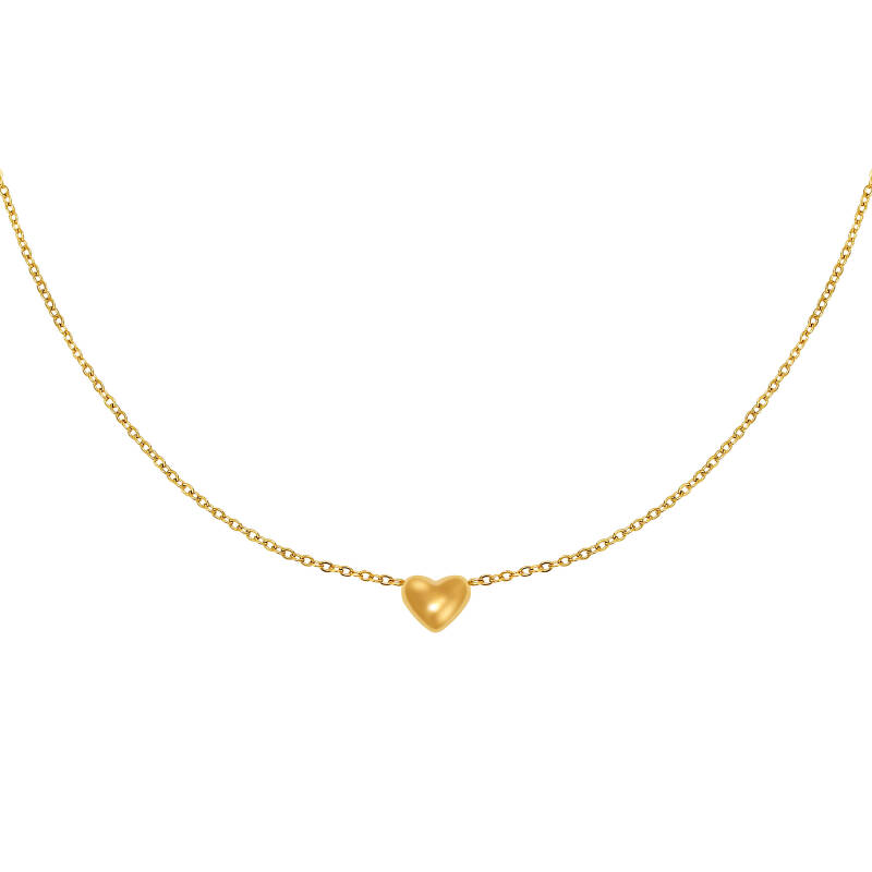 Ketting Always in my Heart - gold