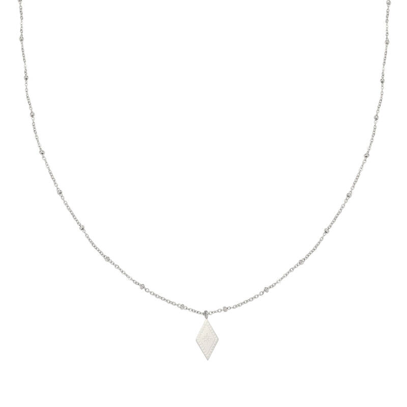 Ketting sparkle on - silver