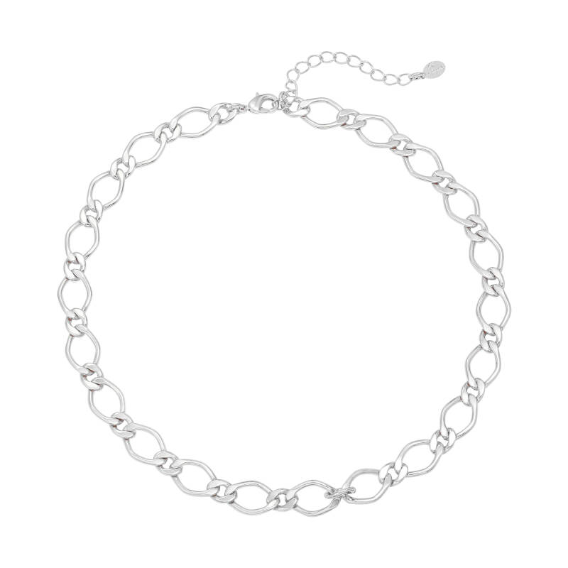 Ketting chunky chain - silver