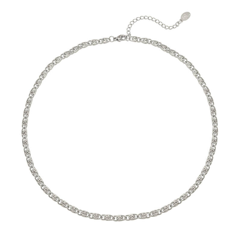 Ketting old times - silver