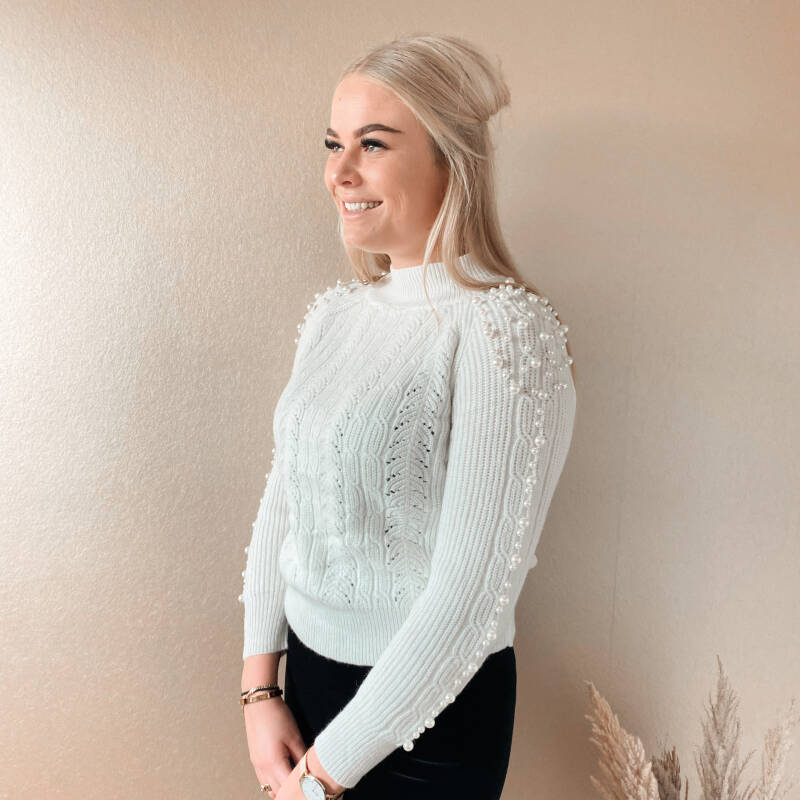Lucy sweater - white