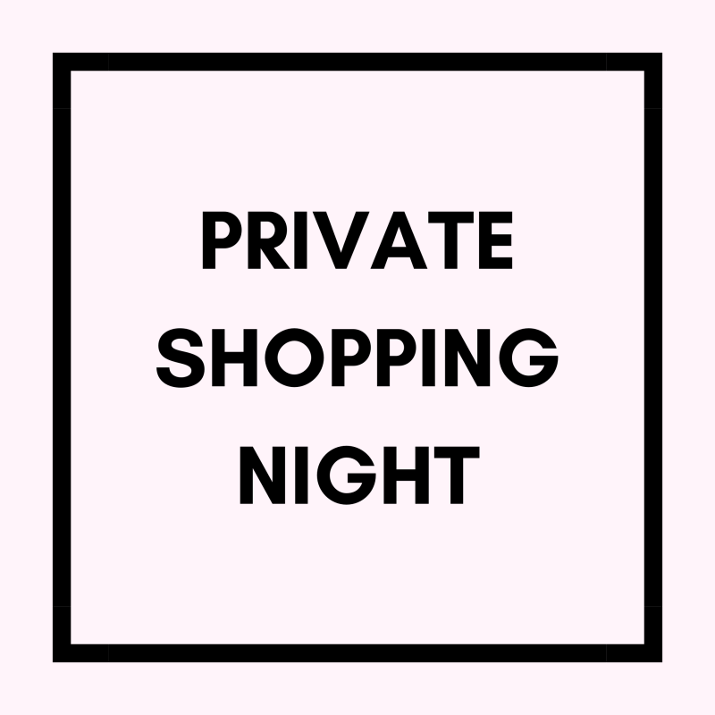Private Shopping Night - 4 personen