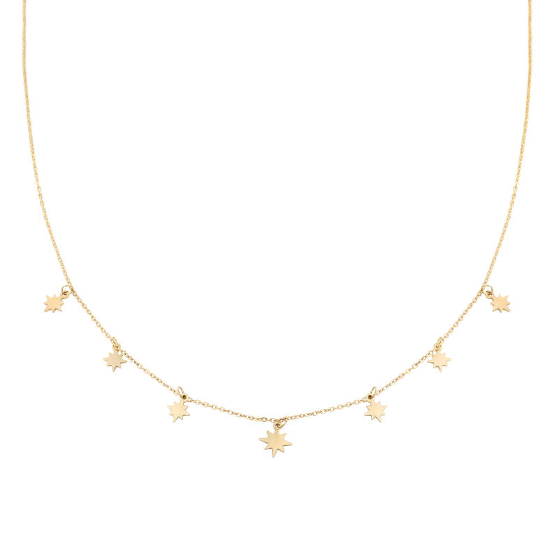Ketting counting stars - gold