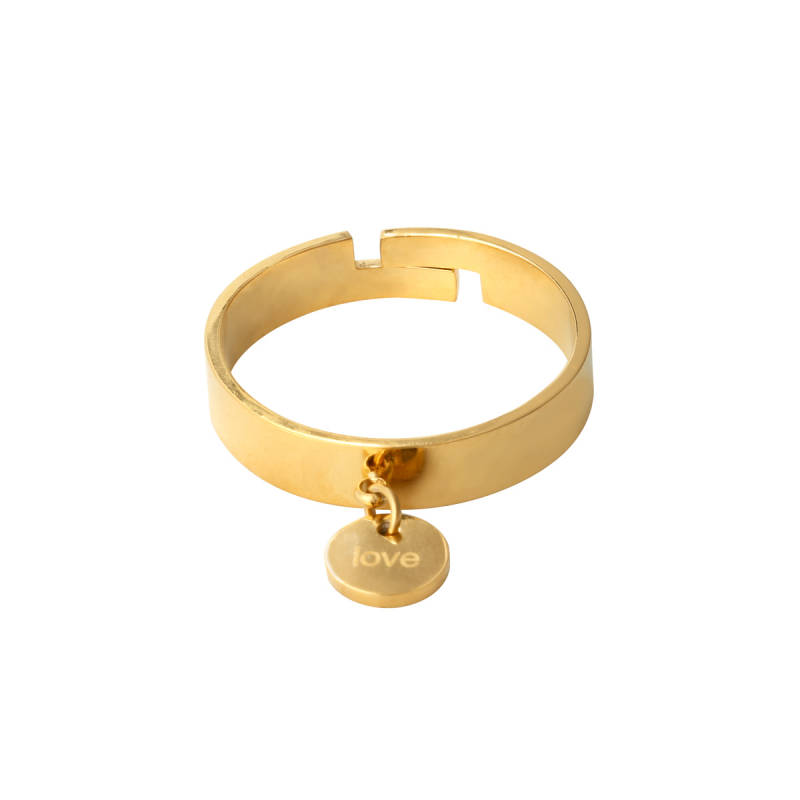 Ring little love - gold