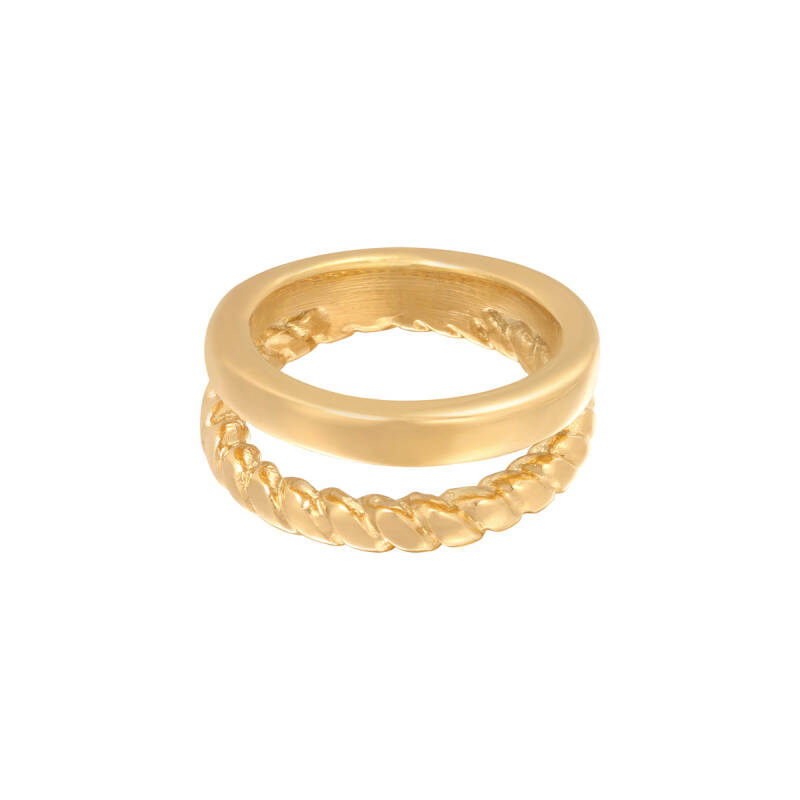 Ring doubled - gold