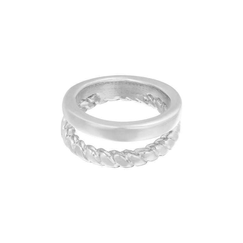 Ring doubled - silver