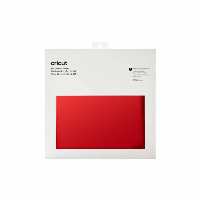 (NEW!) Cricut Foil Transfer Sheets Red (30x30cm)