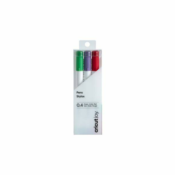 (limited!) Cricut Joy - Fine point Pens (green, violet, red)