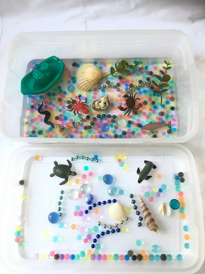 Sensory Play Kits with Water Beads