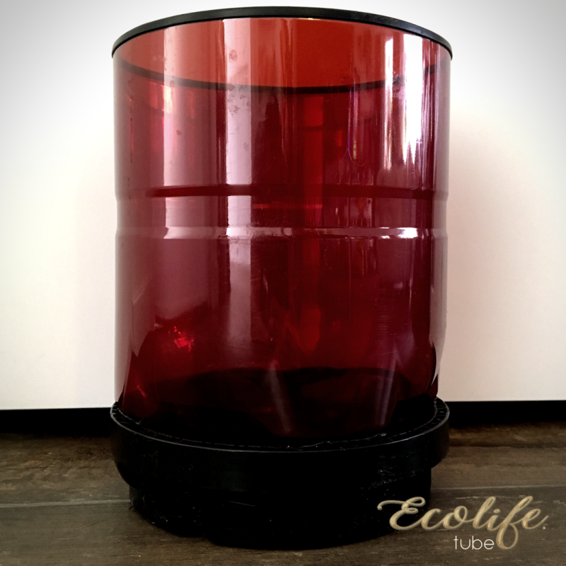 Upcycled 'red red wine' planter - 10 Liter