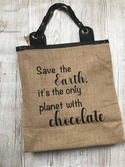 Save the earth boodschappentas