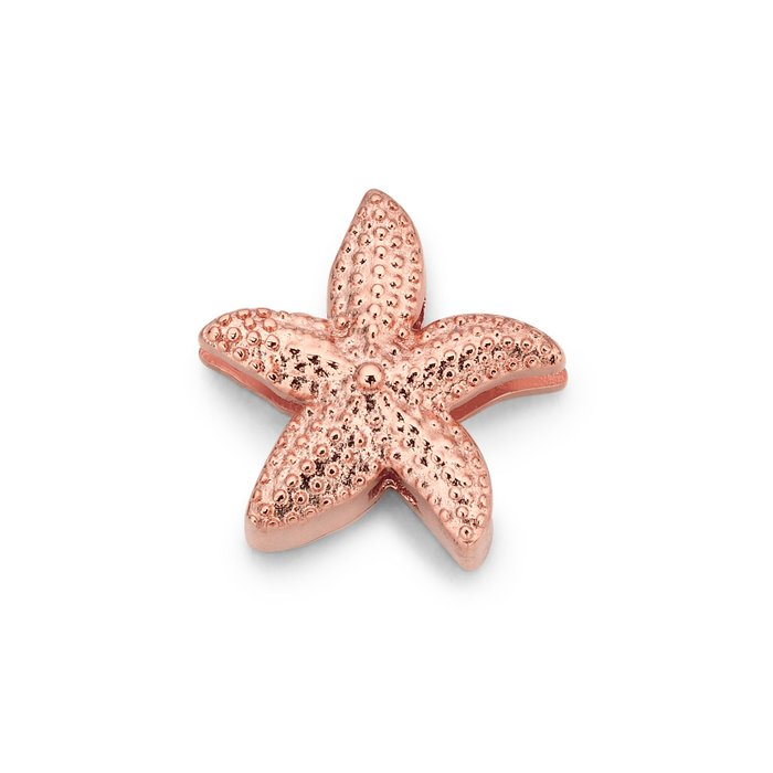 MESH CHARM SEA STAR ROSÉ GOLD