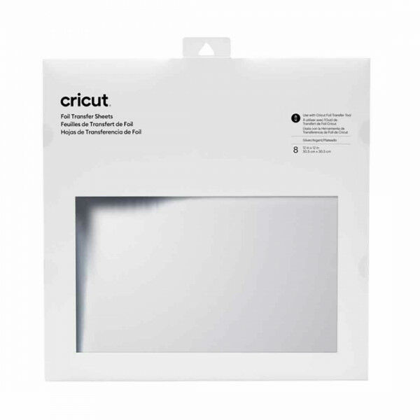 Cricut Foil Transfer Sheets  Silver (2008719)